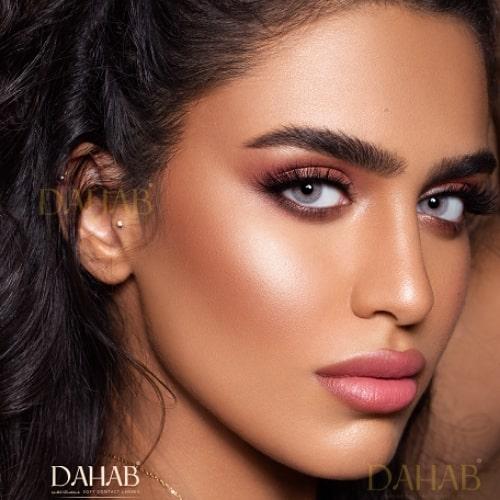 Buy Dahab Hind Eye Contact Lenses - Gold Collection - dahabcontactlenses.pk