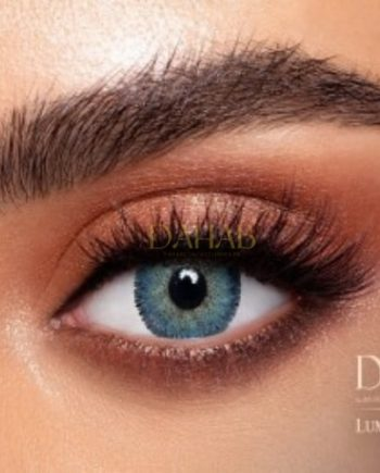 Buy Dahab Lumirere Blue Gray Eye Contact Lenses - Gold Collection - dahabcontactlenses.pk