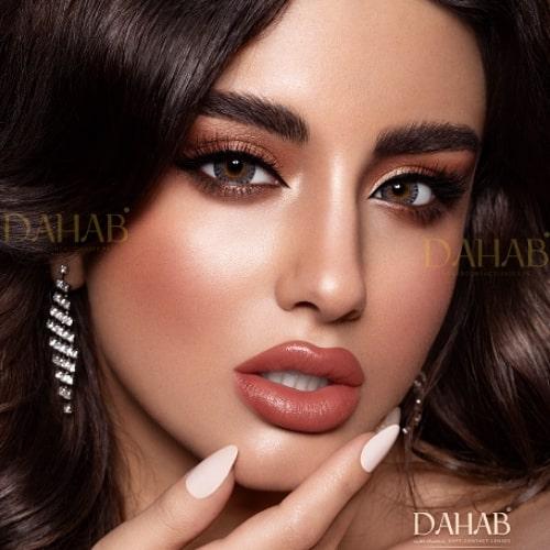 Buy Dahab Diamond Eye Contact Lenses - Gold Collection - dahabcontactlenses.pk
