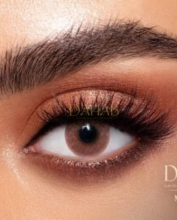 Buy Dahab Marron Eye Contact Lenses - Gold Collection - dahabcontactlenses.pk