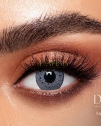 Buy Dahab Sabrin Gray Eye Contact Lenses - Gold Collection - dahabcontactlenses.pk