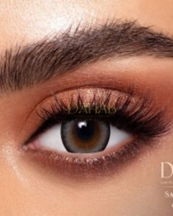 Buy Dahab Sabrin Soul Eye Contact Lenses - Gold Collection - dahabcontactlenses.pk
