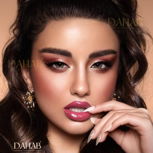 Buy Dahab Sabrin Soul Eye Contact Lenses - Gold Collection - dahabcontactlenses.pk