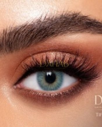 Buy Dahab Tiffany Blue Eye Contact Lenses - Gold Collection - dahabcontactlenses.pk